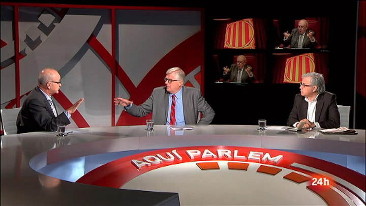 Aquí Parlem - Intervenció de Jordi Pujol al Parlament de Catalunya - 27/09/2014