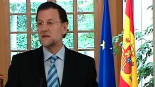 Intervención íntegra de Mariano Rajoy