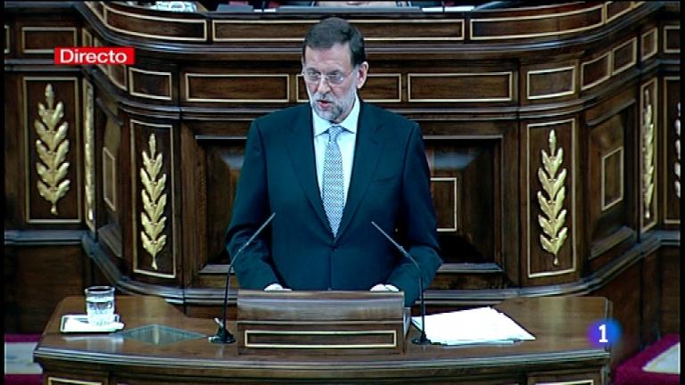 Sesión de investidura del Presidente del Gobierno, Mariano Rajoy