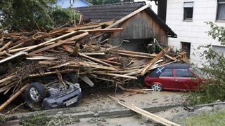Las inundaciones dejan al menos 5 muertos en Alemania y ponen a Francia en alerta