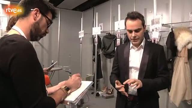 Ion Fiz explica su nueva colección a RTVE.es