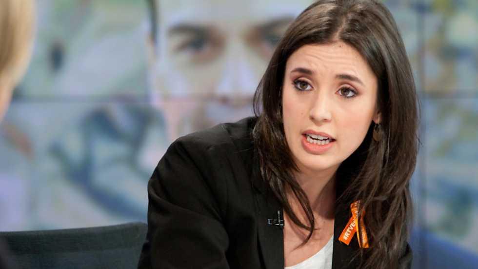 Los desayunos de TVE - Irene Montero, portavoz adjunta de Podemos en el Congreso de los Diputados