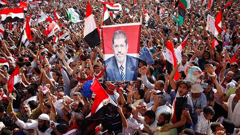 El islamista Mursi, vencedor de las elecciones presidenciales egipcias