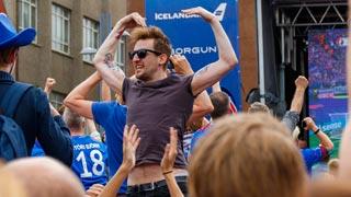 Islandia celebra a gritos su pase a octavos