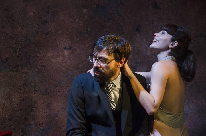 Israel Elejalde y Bárbara Lennie son Alcestes y Celimena, la pareja protagonista de 'Misántropo'.