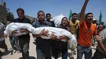 Ir al VideoIsrael redobla sus ataques en Gaza tras sufrir el peor revés de la ofensiva