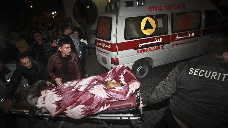 Israelíes y palestinos alcanzan una tregua para detener la violencia en la franja de Gaza