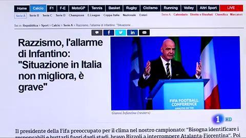 Ir al VideoItalia no ataja el problema del racismo en el fútbol