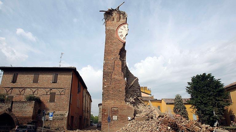 Un terremoto a 35 kilómetros de Bolonia, Italia, deja 6 muertos y 50 heridos