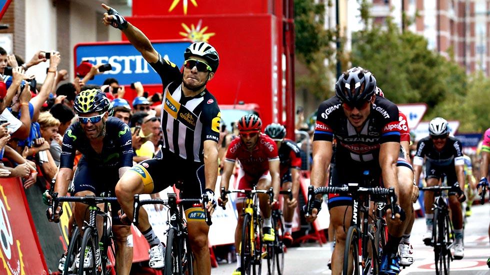 El italiano Sbaragli gana el esprínt de Castellón