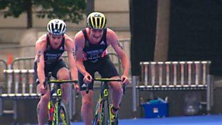 Triatlón - ITU World Series Prueba Leeds (Inglaterra). Resumen