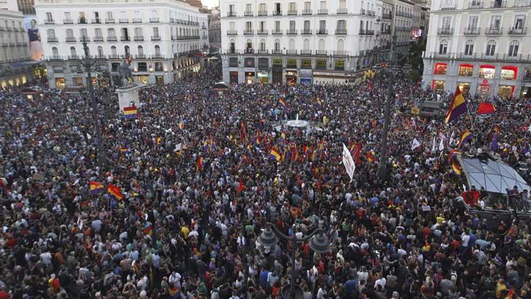 Partidos como IU y EQUO convocan nuevas manifestaciones a favor del referéndum