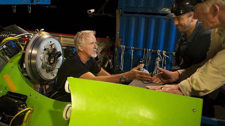 James Cameron desciende a la fosa de las Marianas, el abismo del océano