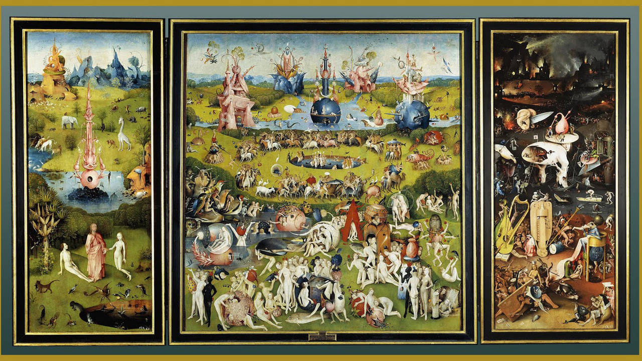 'El jardín de las delicias', cuadro de El Bosco