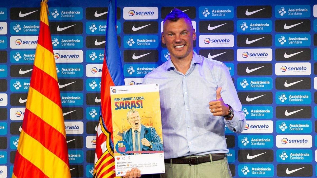 Ir al VideoJasikevicius, el fichaje que ilusiona a los aficionados del FC Barcelona