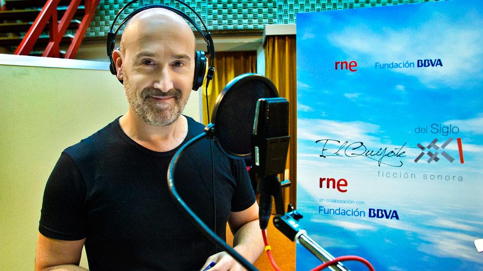 El Quijote del siglo XXI: versión radiofónica - Javier Cámara se suma a la grabación del nuevo 'Quijote' de RNE