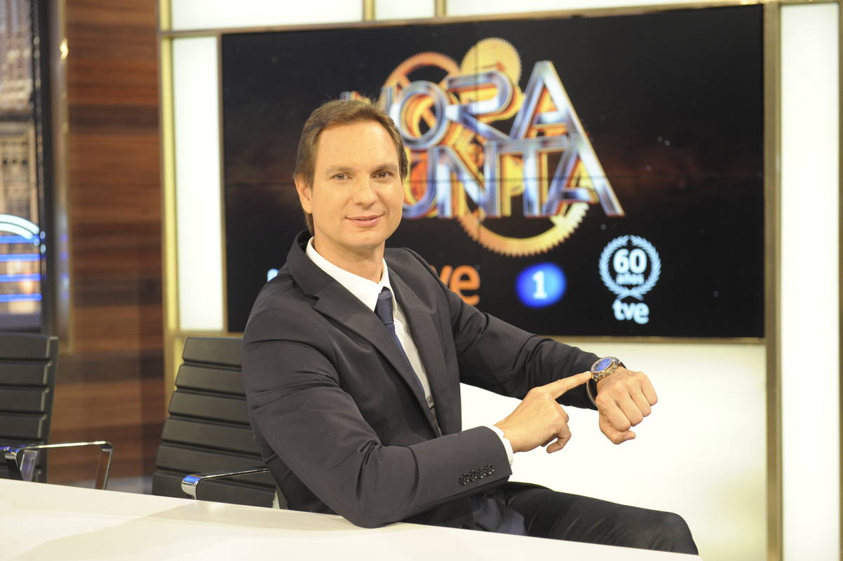 Javier Cárdenas vuelve a La 1 a las 22,15 horas con el nuevo programa 'Hora Punta'