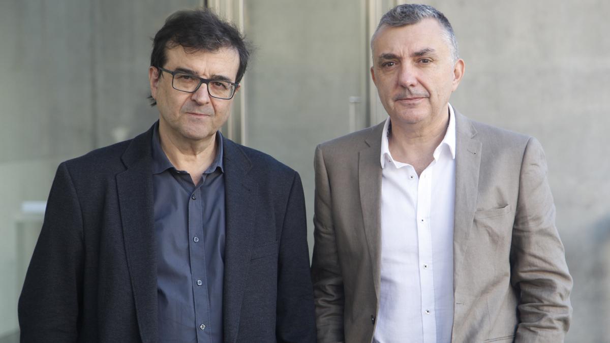 Ir al VideoJavier Cercas y Manuel Vilas, ganador y finalista del Premio Planeta