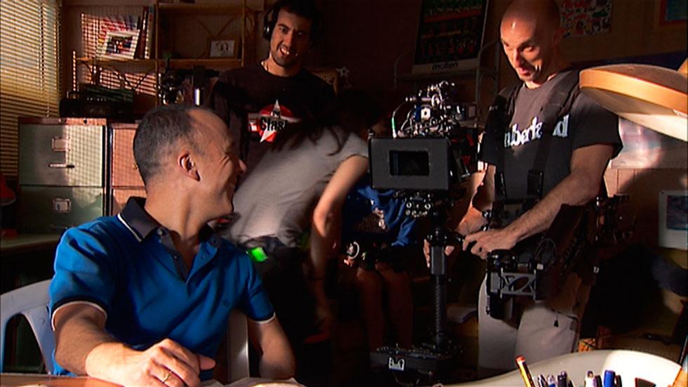 Javier Fesser está volcado en el rodaje de su nueva película: 'Campeones', en la que participa TVE