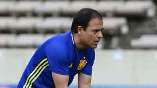 Javier Miñano, el preparador físico de la selección ve unidad en el grupo