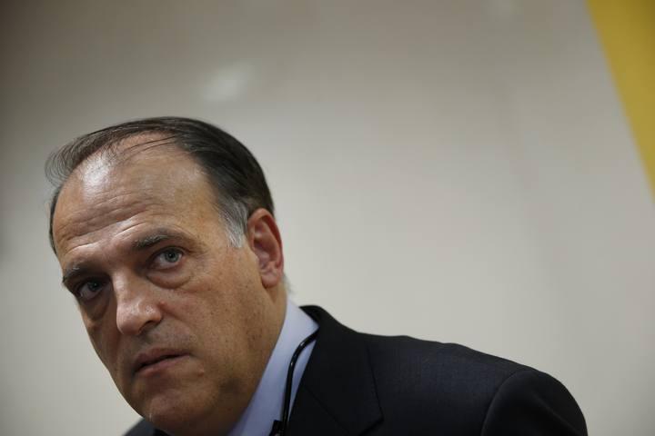"Presidente Liga española: ""No están todos, falta gente todavía"""