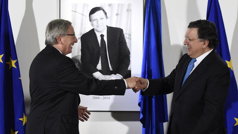 Jean-Claude Juncker comienza su mandato de cinco años como presidente de la Comisión Europea