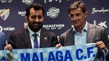 """El jeque del Málaga la lía en Twitter: """"La escoria de Cataluña no va a oler la Liga"""""""