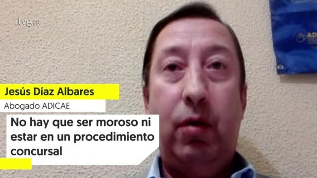 """Ir al VideoJesús Díaz (ADICAE): """"No hay que ser moroso ni estar en un procedimiento concursal"""""""