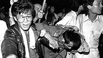 """Ir al VideoJ.L. Márquez, testigo de la matanza deTiananmen: """"Los carros de combate atropellaban a las personas"""""""