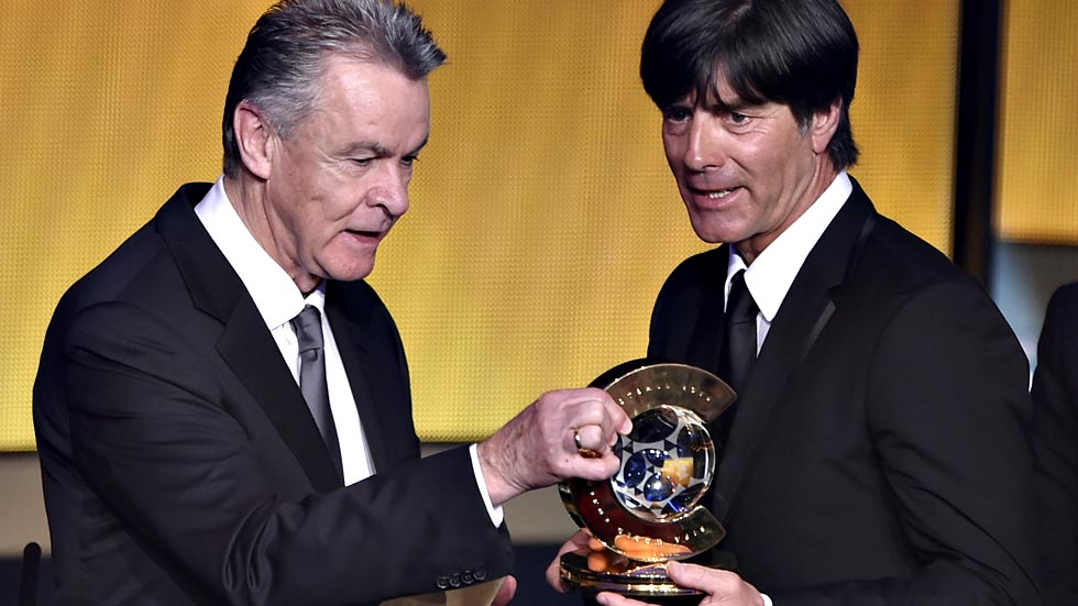 Joachim Löw, elegido mejor entrenador del año