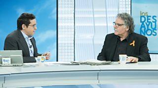 Los desayunos de TVE - Joan Tardà, portavoz de ERC en el Congreso de los Diputados