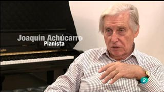 Programa de mano - Entrevista: Joaquín Achúcarro