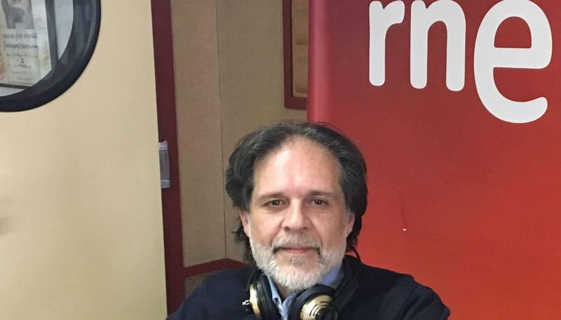 Joaquín López, codirector del programa 'Gitanos' en Radio 5 y Radio Exterior