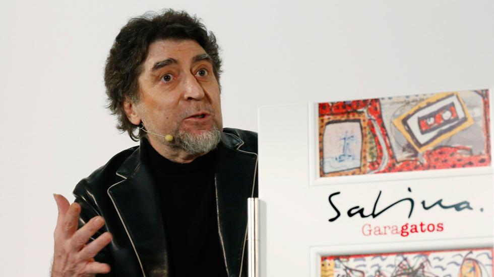 Joaquín Sabina publica 'Garagatos', un libro con sus dibujos y pinturas