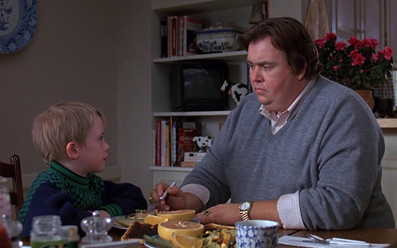 John Candy y Macaulay Culkin en 'Solos con nuestro tío' (John Hughes, 1989)