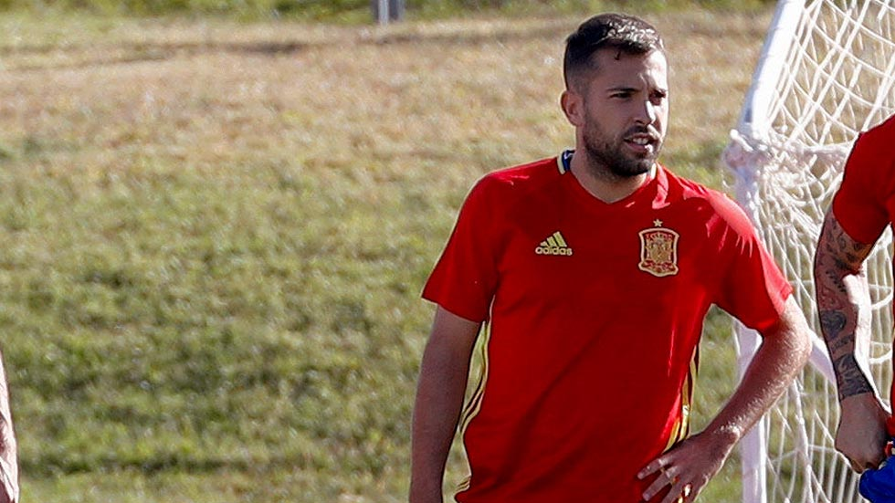 """Jordi Alba: """"Lopetegui ha encajado perfectamente con nosotros"""""""
