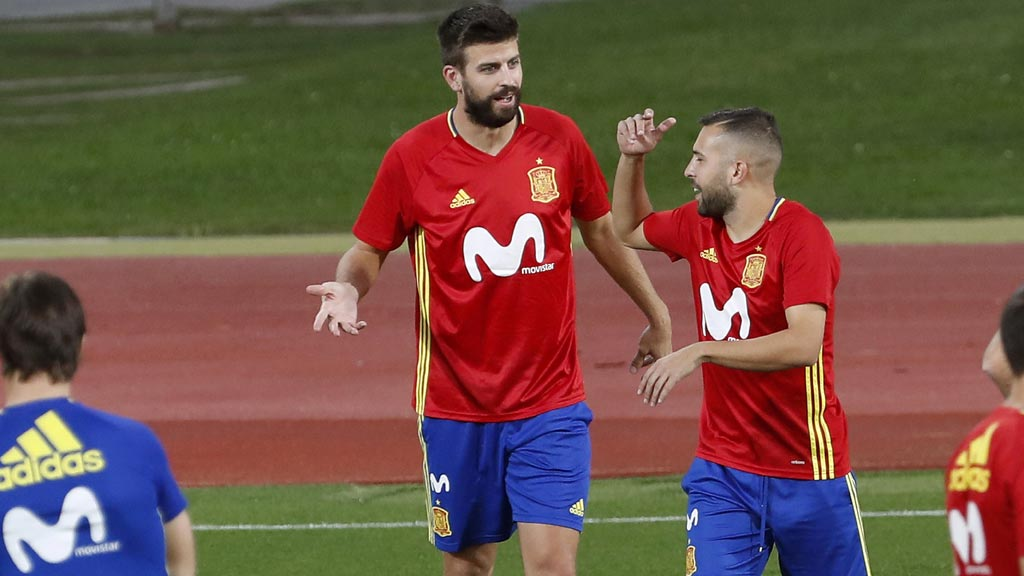 """Jordi Alba: """"La situación es incómoda para todos"""""""