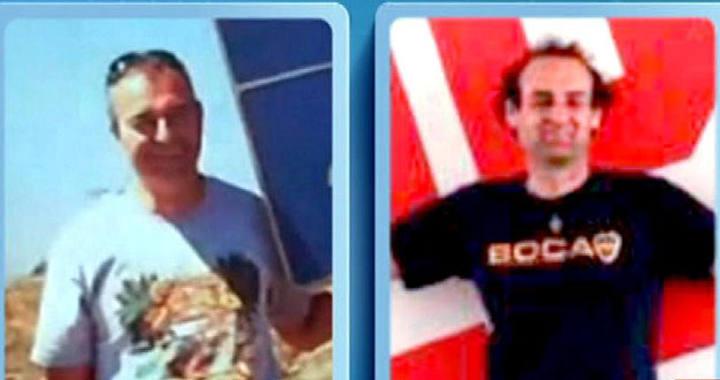 Jorge de Miguel y Víctor García, desaparecidos en el naufragio de Indonesia