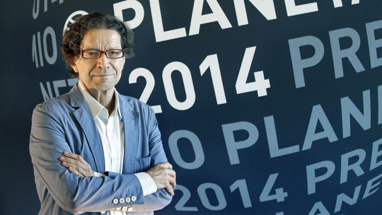 Jorge Zepeda ha ganado el premio Planeta 2014