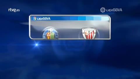 Liga BBVA - Jornada 22: Getafe-Athletic Bilbao. Resumen