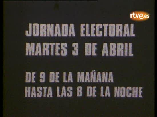 Jornada electoral de las primeras elecciones municipales en 1979