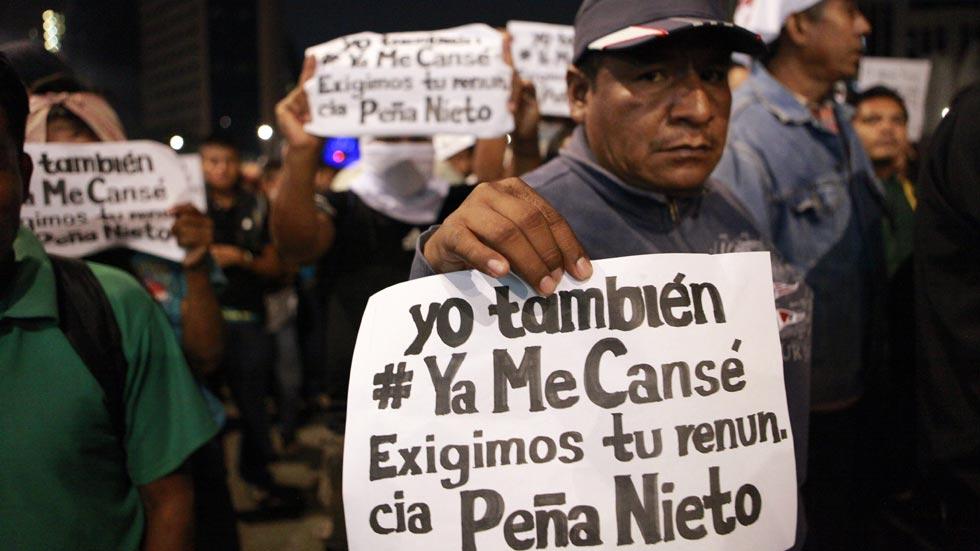 Jornada de protesta en México por los 43 estudiantes desaparecidos en Iguala