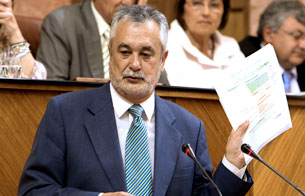 Ver vídeo  'José Antonio Griñán es elegido como nuevo presidente de la Junta de Andalucía'