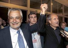 José Antonio Griñán junto al exvicepresidente andaluz Manuel Chaves