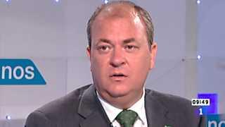 Los desayunos de TVE - José Antonio Monago, presidente de la Junta de Extremadura