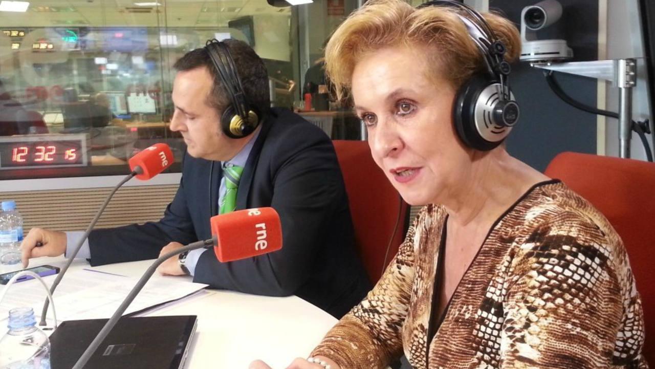 José Luis Casero y Carmen Quintanilla, en RNE