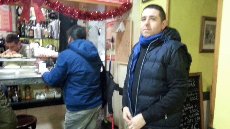 José Luis, dueño del Bar Barrio