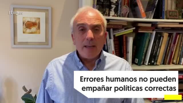 """Ir al VideoJosé Luis Martínez (AEBANCA): """"Errores humanos no pueden empañar políticas correctas"""""""