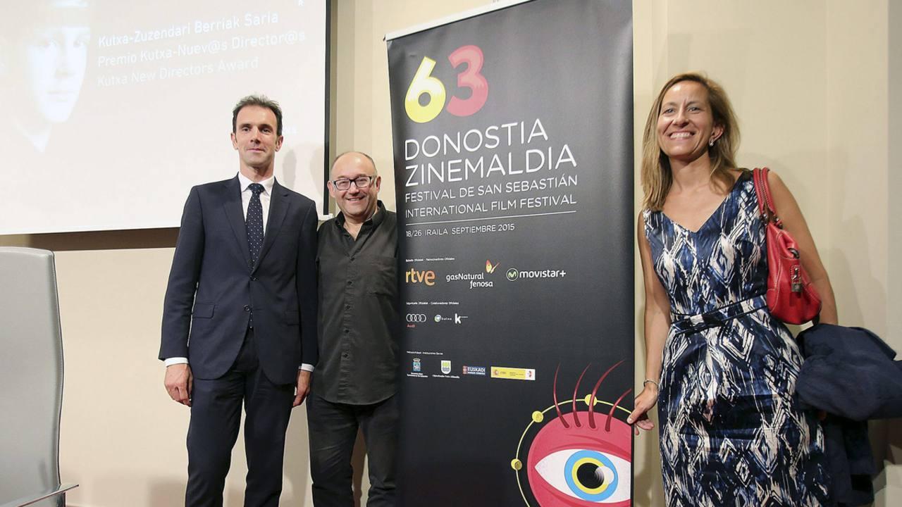 José Luis Rebordino durante el anuncio de las trece películas candidatas a la sección Nuevos Directores del Festival de San Sebastián