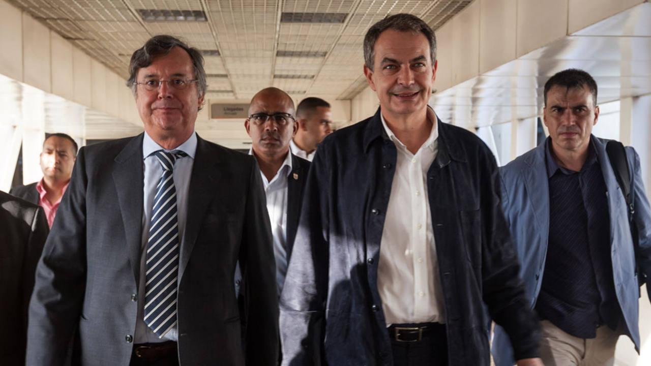 Zapatero llega a venezuela para actuar como acompa ante Procesos de cocina jose luis armendariz